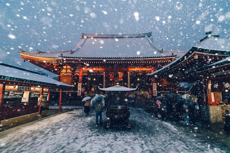Yuichi Yokota Winter in Tokyo
