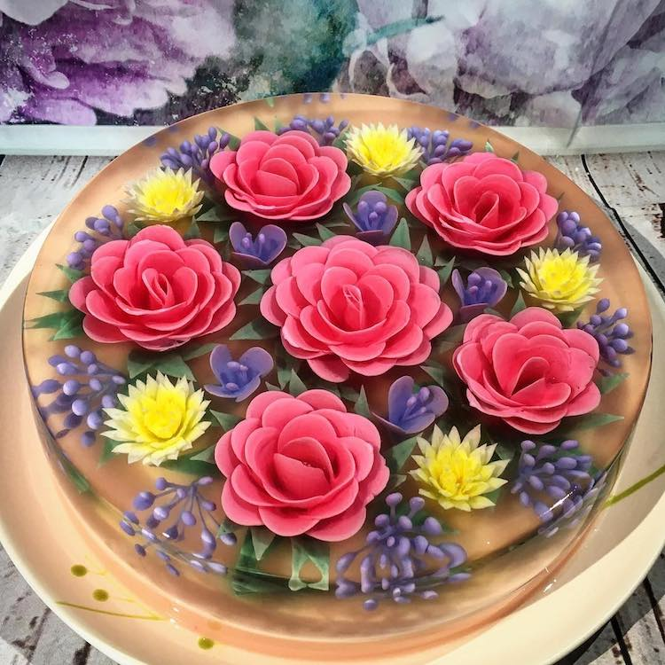 3D Jelly Cake by Siew Heng Boon