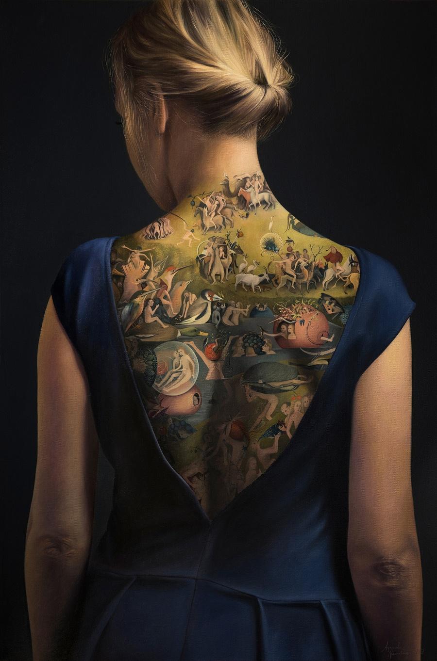 Contemporary Garden of Earthly Delights Agnieszka Nienartowicz