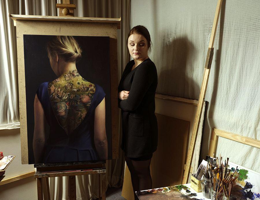 Contemporary Oil Painter Agnieszka Nienartowicz
