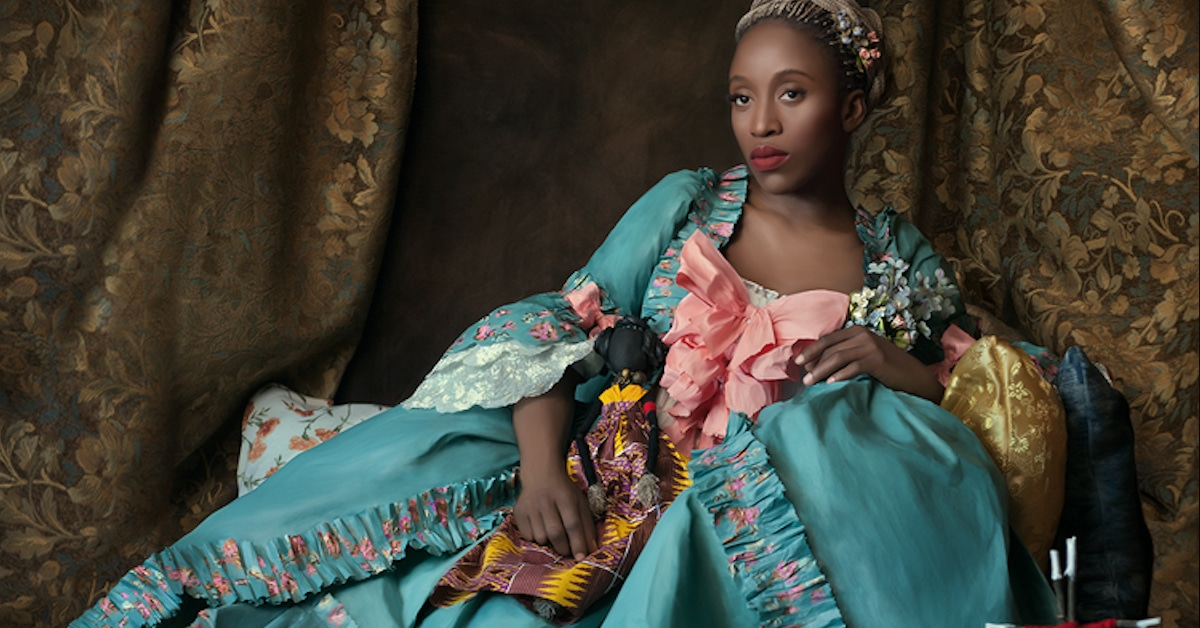 Interview: Powerful Photos of Black Women in White European Nobility Gowns