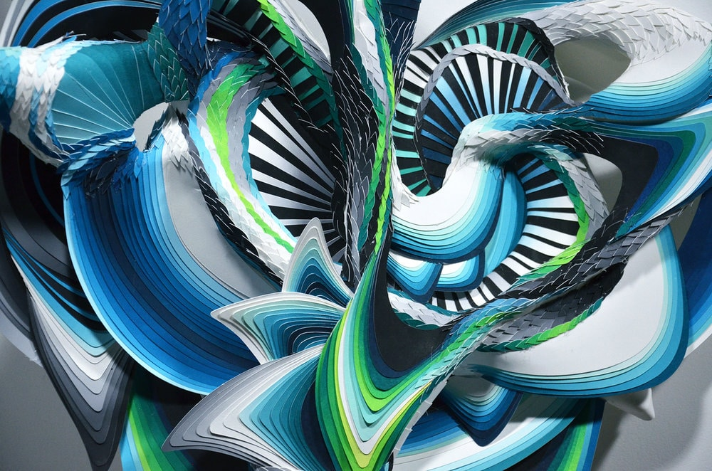 Contemporary Paper Art by Crystal Wagner