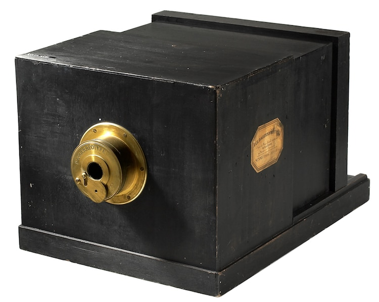 history of photography Daguerreotype Camera