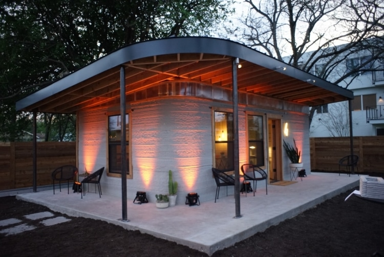 ICON 3D Printed House