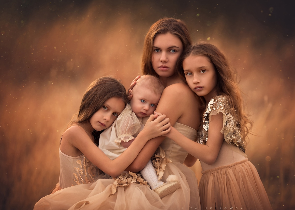 Sibling Photography by Lisa Holloway