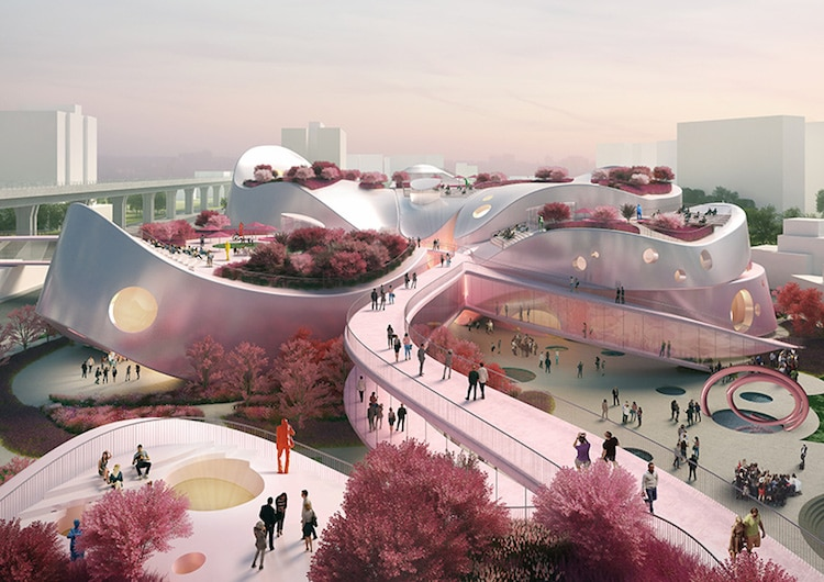 Taoyuan Museum of Art - MVRDV and JJP Architects