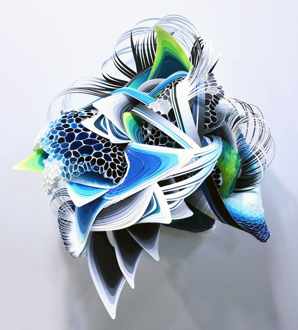 Crystal Wagner paper art