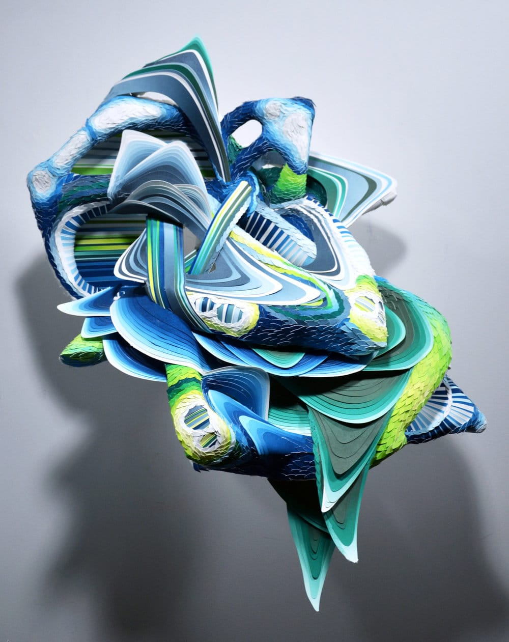 Crystal Wagner cut paper art