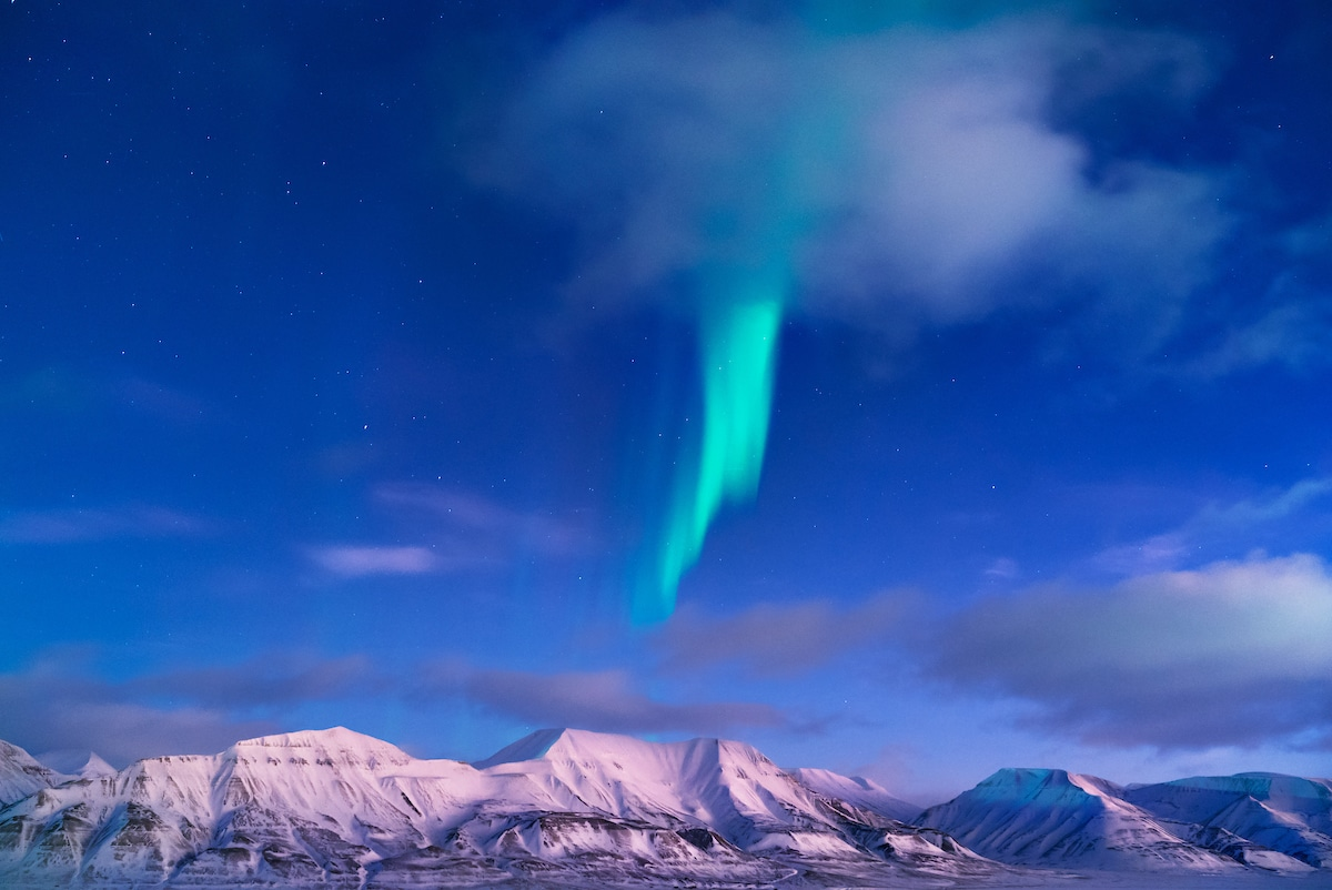 Maria Sahai Photographer Arctic Settlement Northern Lights