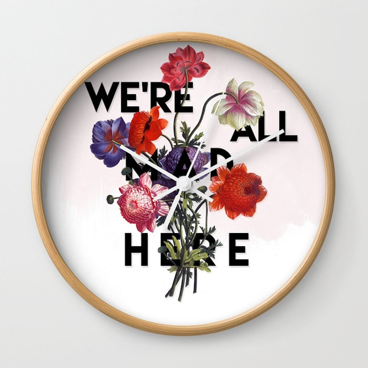 Alice in Wonderland Gifts Alice in Wonderland Clock
