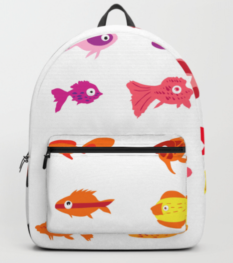 Animal Accessories Fish Backpack