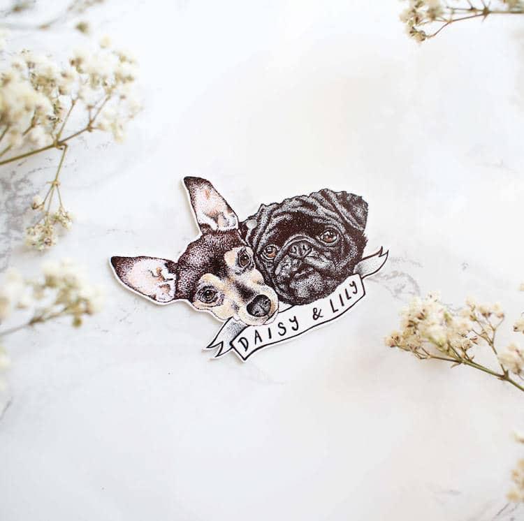 Animal Accessories Personalized Pet Pendant