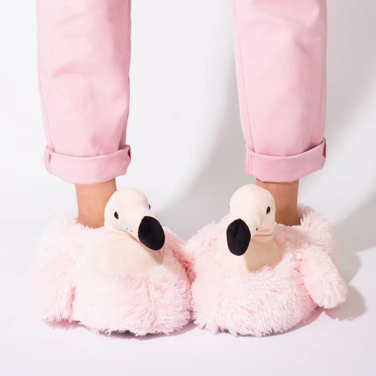 Animal Accessories Flamingo Slippers