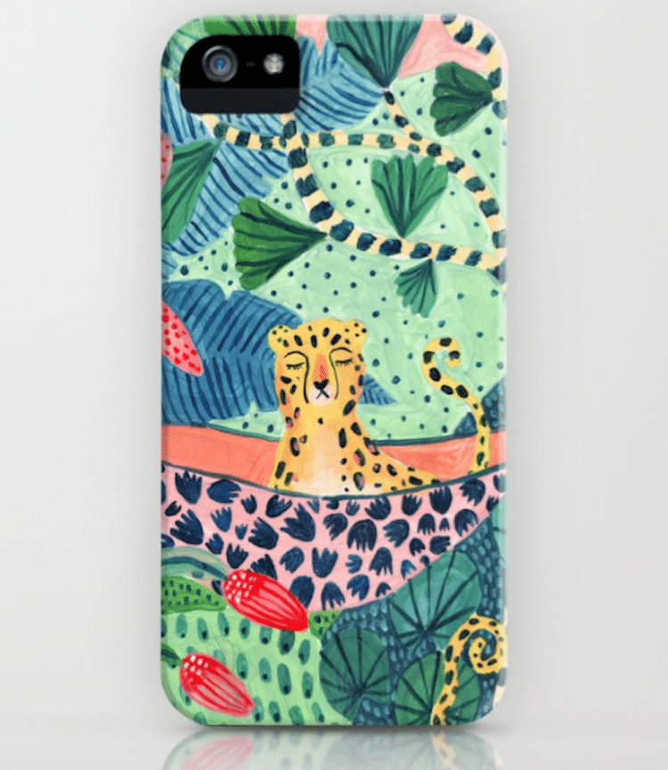 Animal Accessories Leopard Phone Case