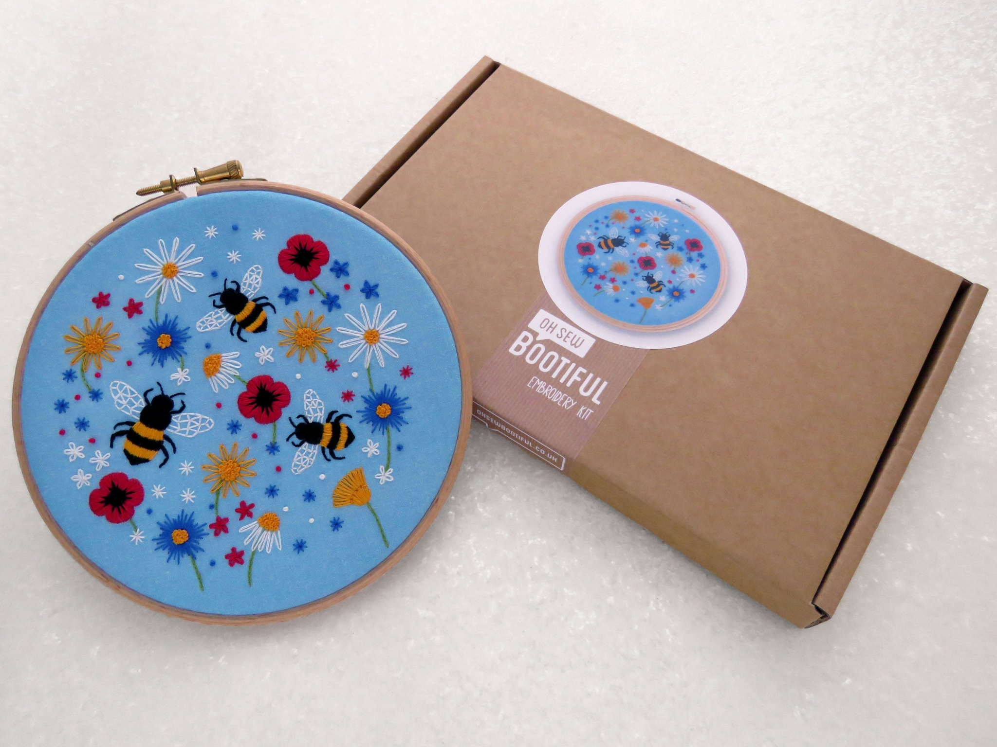 Bees Embroidery Kit