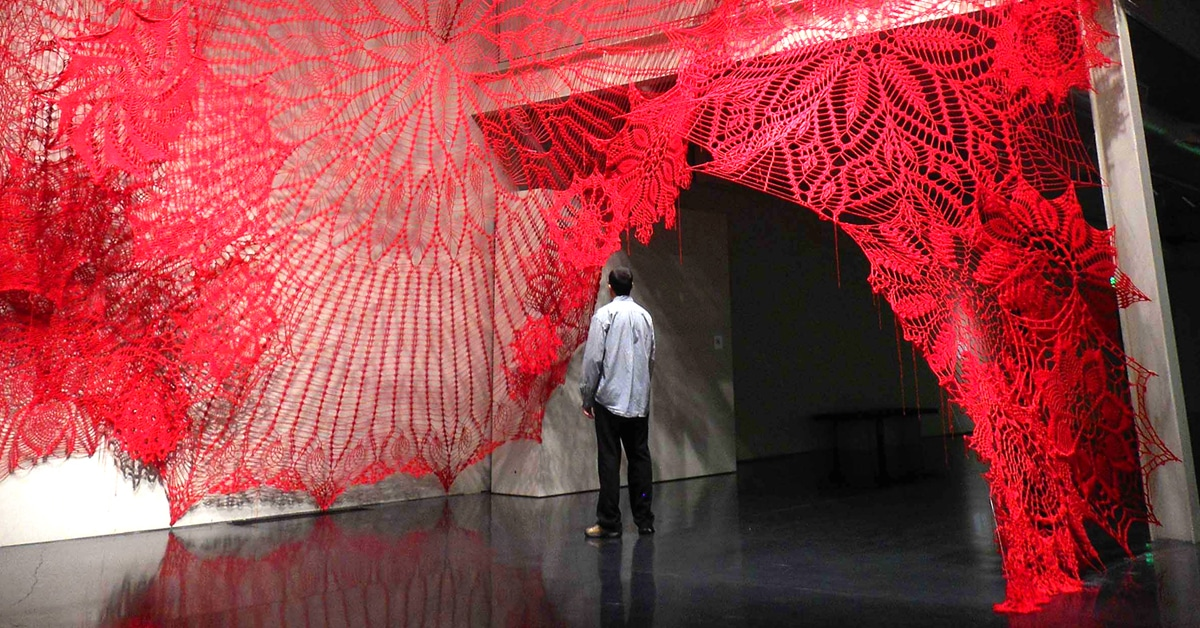 Growing Installation Art Fills Gallery Spaces With Giant ...