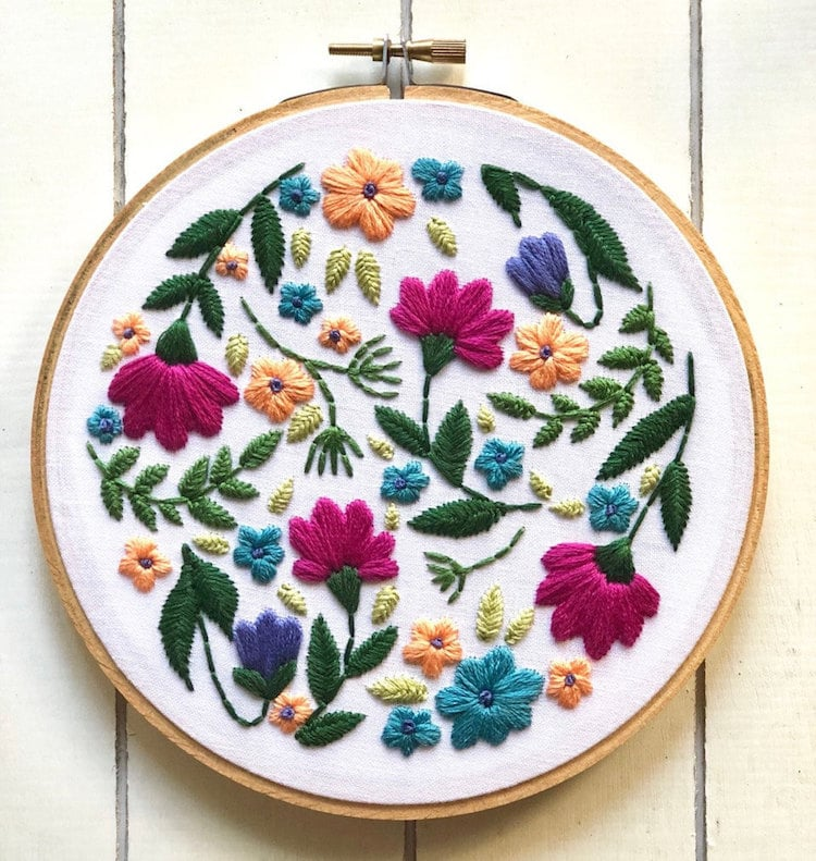 26 Embroidery Patterns That You Can Start Sewing Today