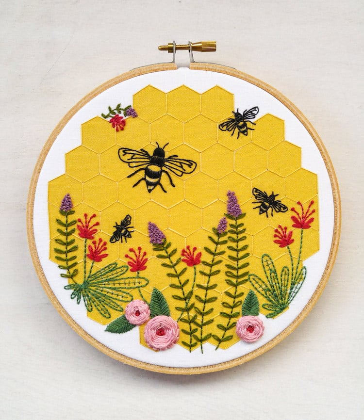 40 Embroidery Patterns That You Can Start Sewing Today Beauteous Hand Stitch Embroidery Patterns