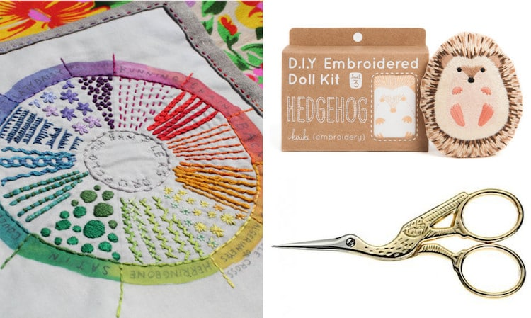 Embroidery Supplies DIY Embroidery Kits