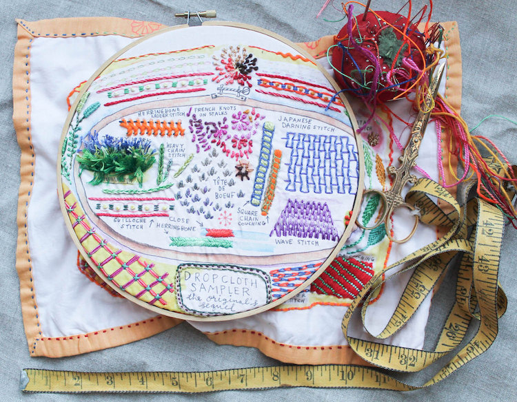 Embroidery Supplies And DIY Embroidery Kits That Are Perfect For Starters
