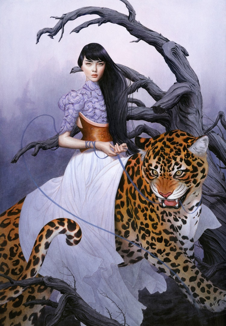 Fairytale Colored Pencil Drawings by Tran Nguyen