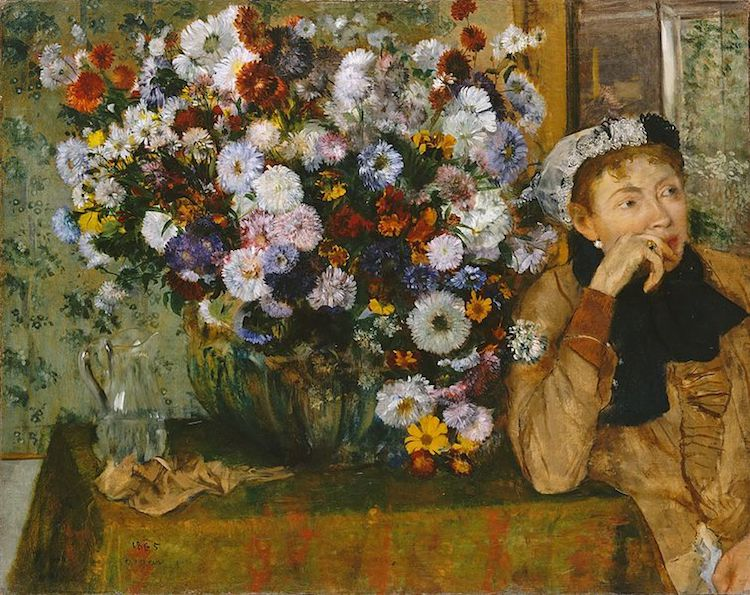 Flower Art History Flower Painting Flowers in Art