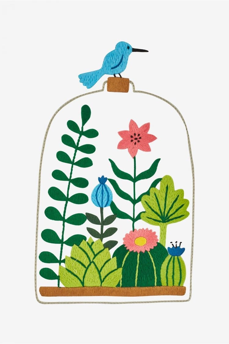 Patrones de flores para bordar gratuitos