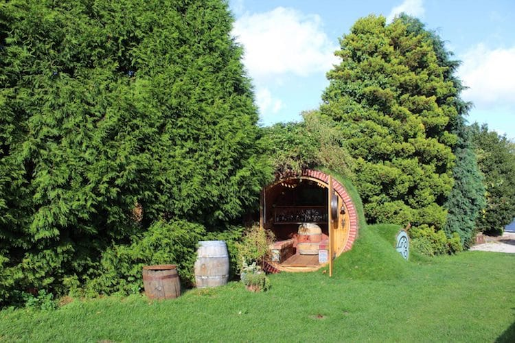 Firefighter Starts Business Building Real Hobbit House For