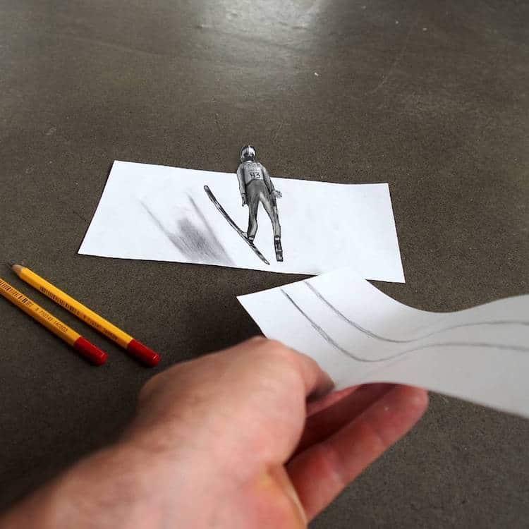 Anamorphic Illusions by Ramon Bruin