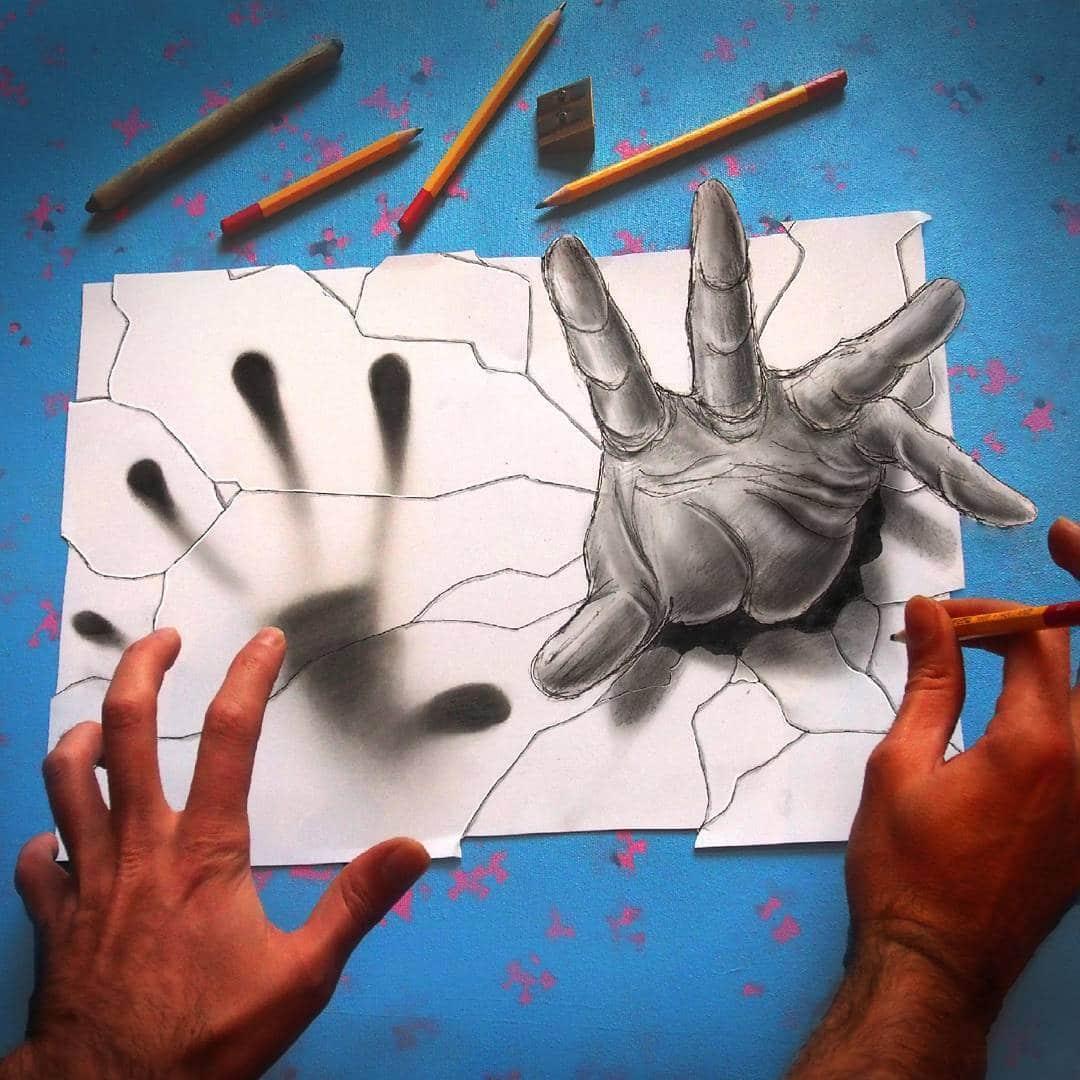 Anamorphic Art by Ramon Bruin