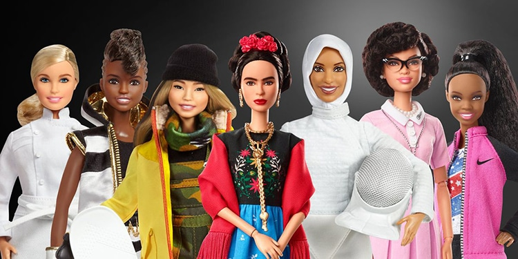 Barbie Introduces Real Female Heroes to Celebrate International Women's Day