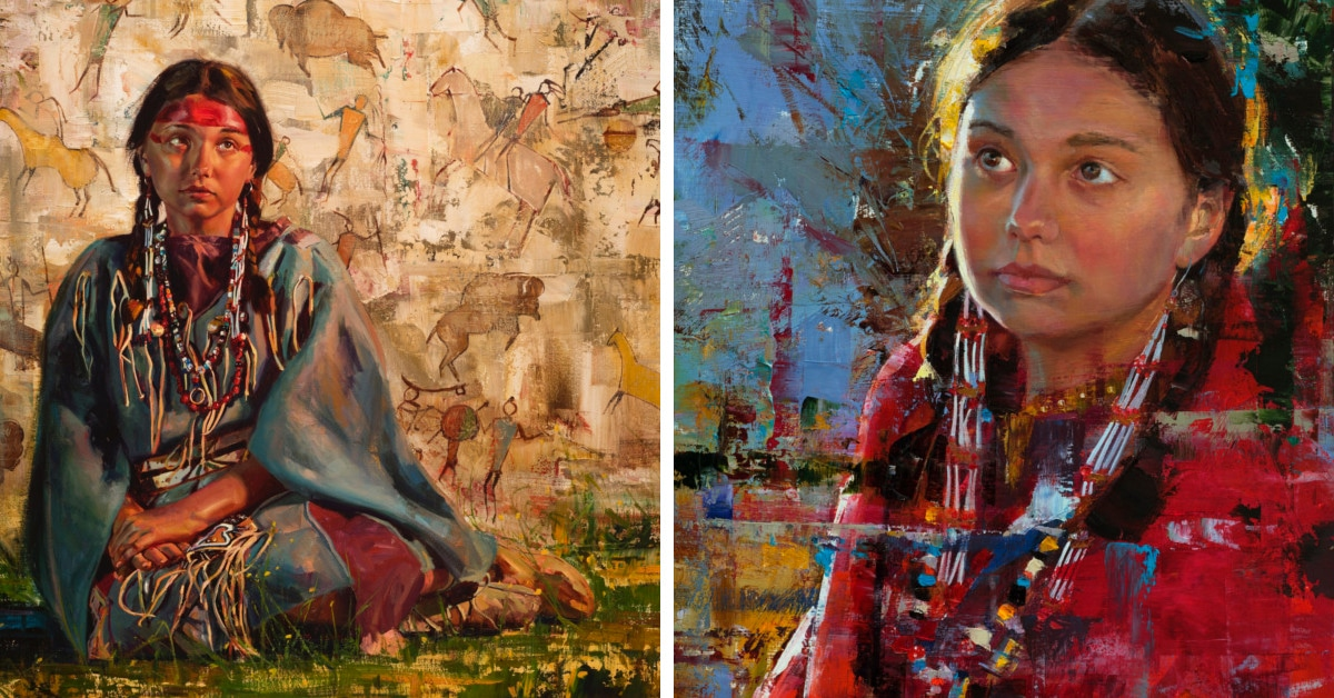 d6d62e097d Interview: Jeremy Winborg Creates Expressive Native American Portraits