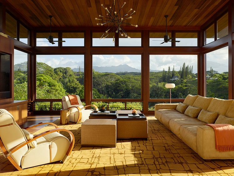 Kauai Hawaii Modern Home Tour