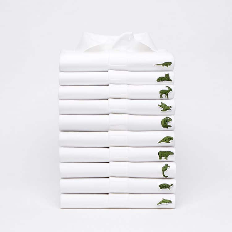 f28581c7bd08 Lacoste Have Replaced Crocodile Logo with 10 Endangered Species