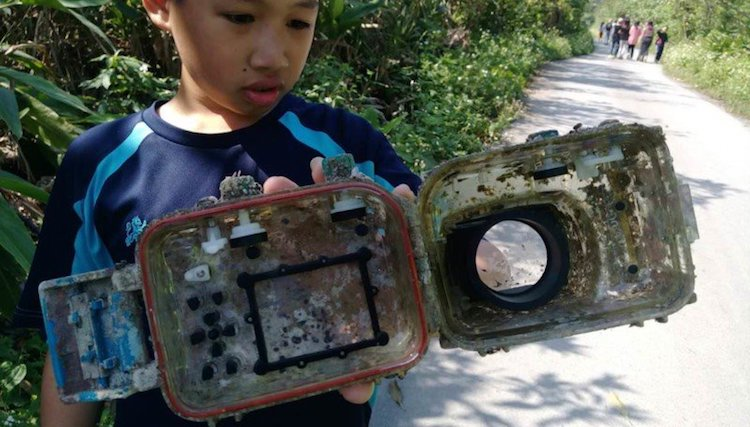Lost Camera Found After 2 Years Underwater