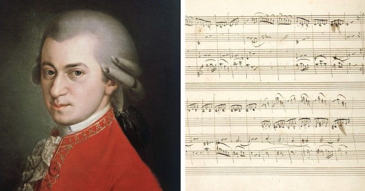 Mozart Manuscript Mozart Compositions British Library Free Online Books Resources
