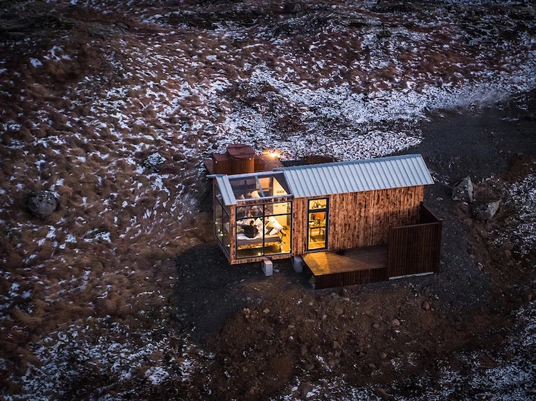Panorama Glass Lodge cool hotels Iceland