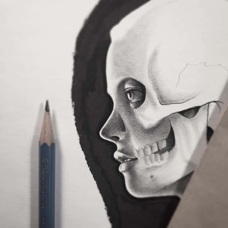 Paul Jackson drawing