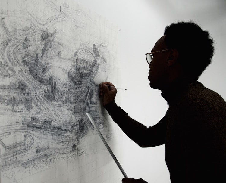 Artist Is Creating Detailed Cityscape Pen Drawings Of All 69 Cities In Britain