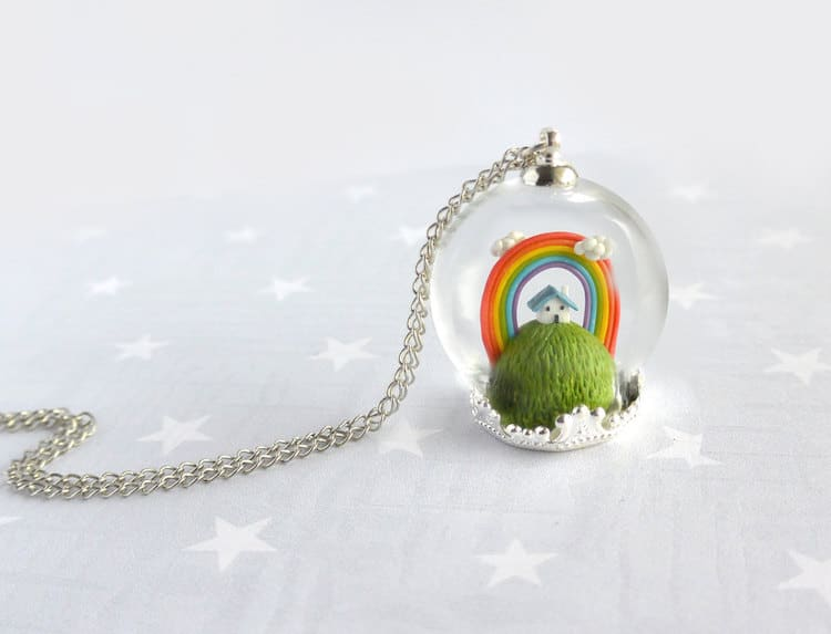 Rainbow Gifts Rainbow Products Colorful Gifts Rainbow Necklace