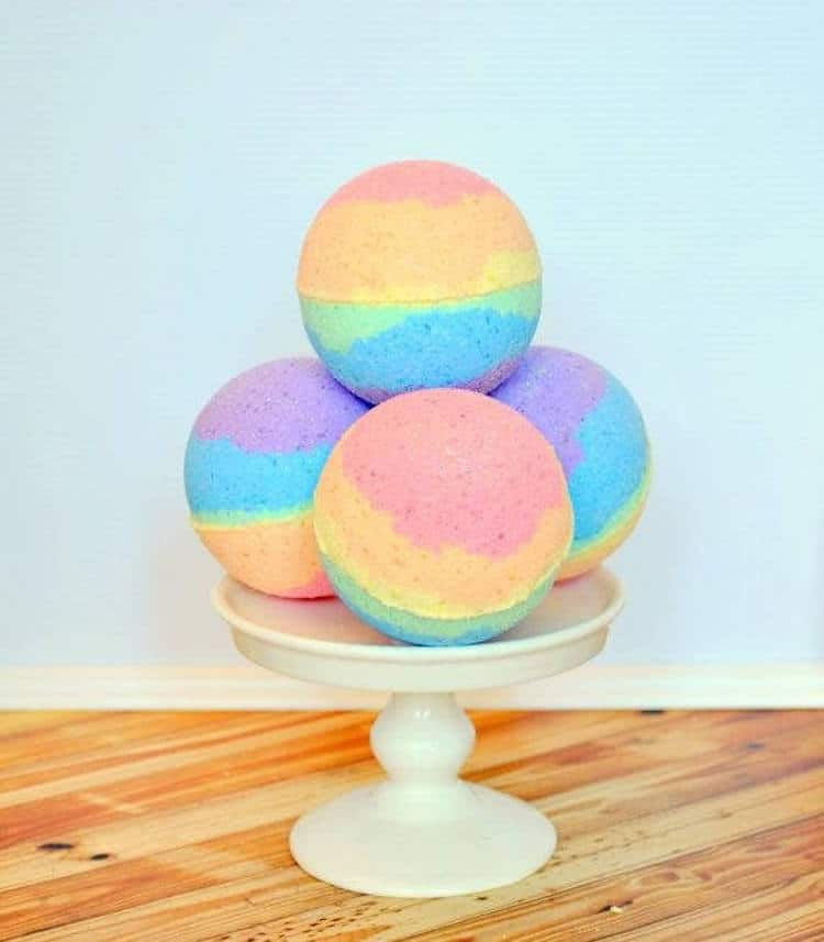 Rainbow Gifts Rainbow Products Colorful Gifts Rainbow Bath Bombs