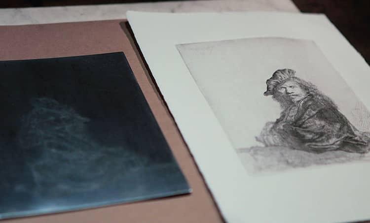 Rembrandt grabados