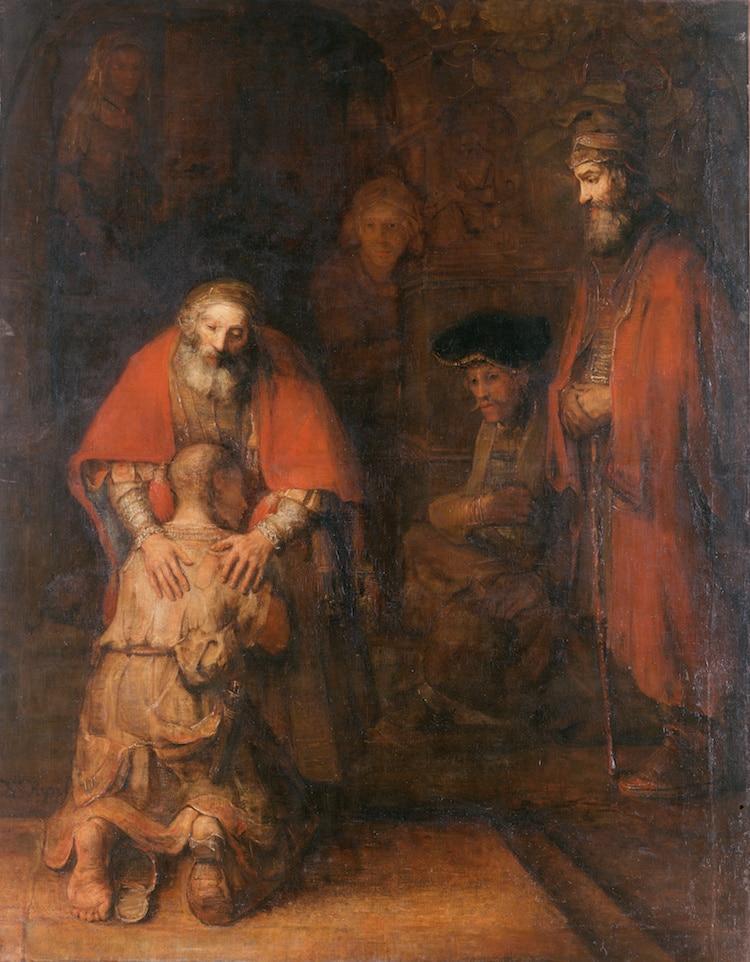 Rembrandt retorno del hijo prodigo