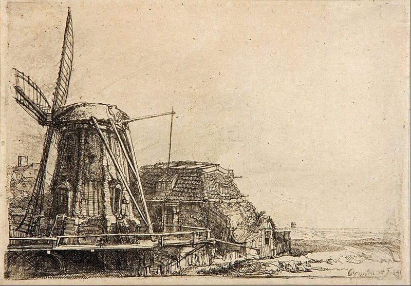 Rembrandt grabado