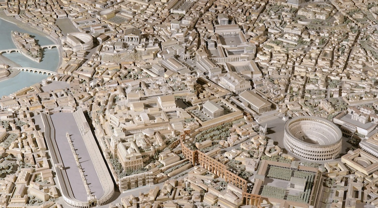 Scale Model of Ancient Rome by Italo Gismondo