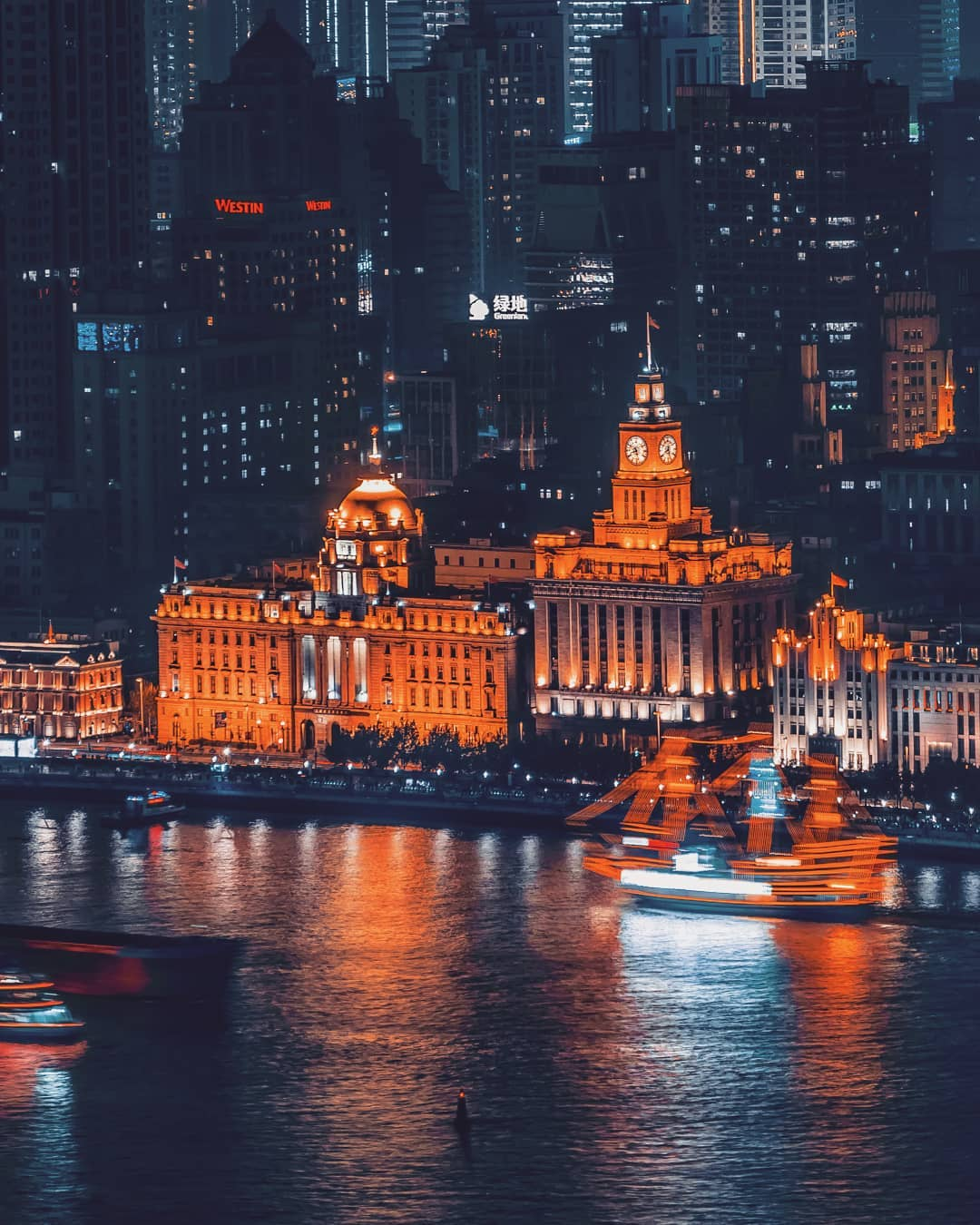 Shanghai Cityscape Photography by Mark Siegemund
