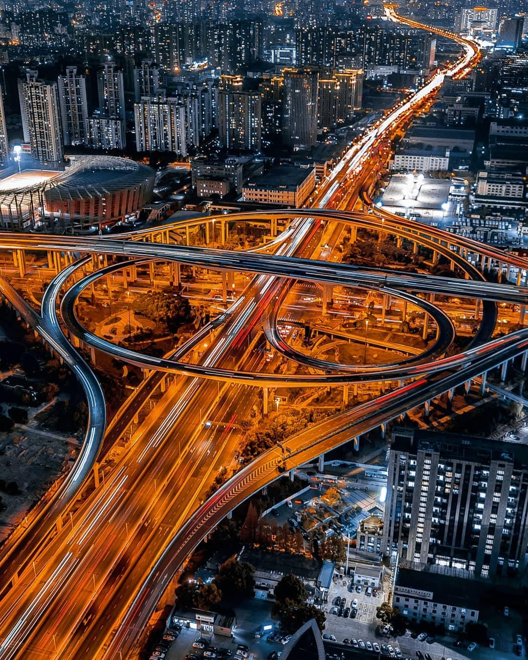 Shanghai Cityscape Photography by Mark Siegemund