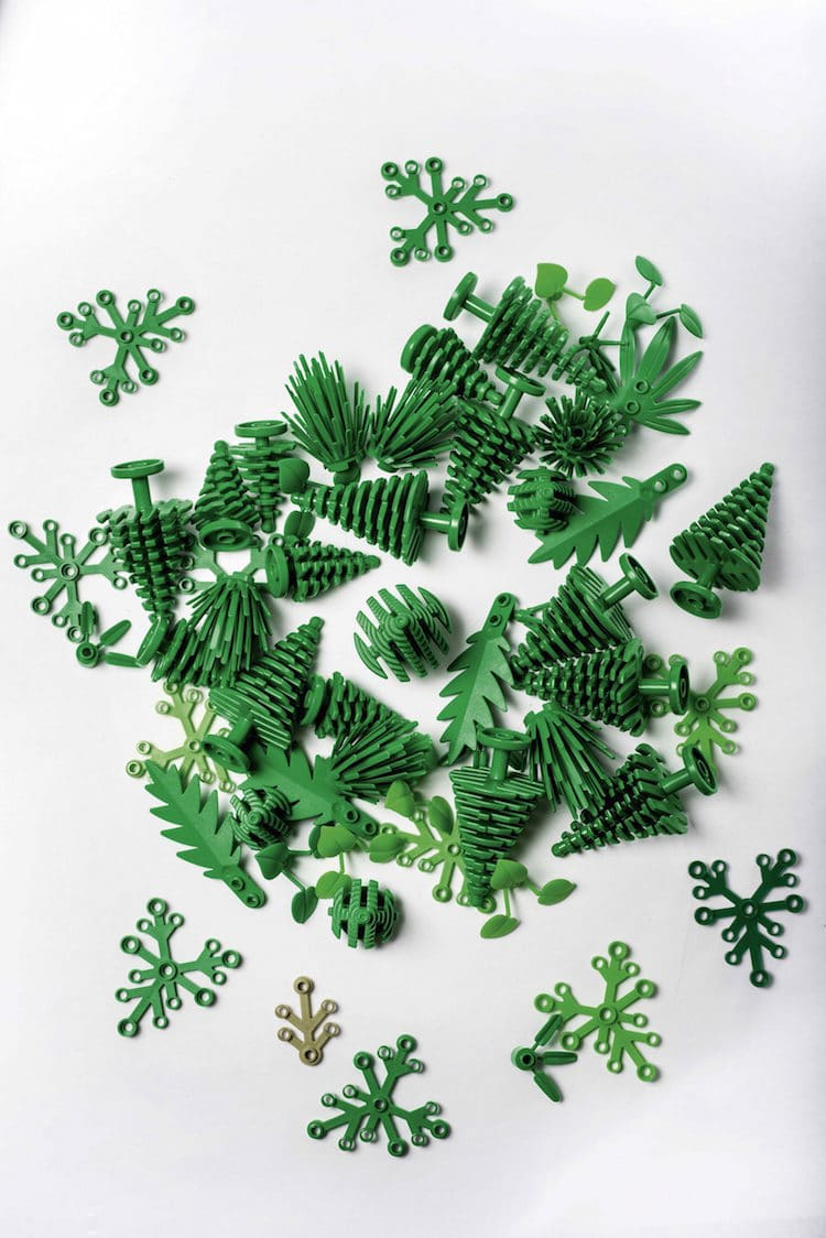 Sustainable Bioplastic Lego