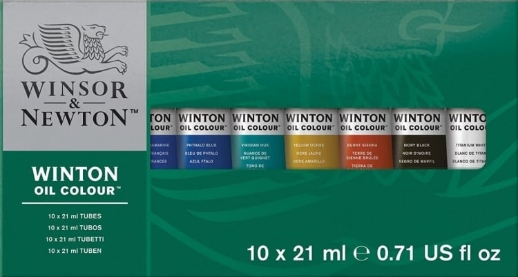 Winsor & Newton Oil Paints for Beginners