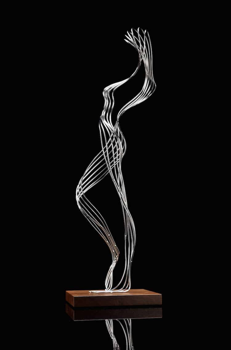 Wire Sculptures Wire Art by Martin Debenham